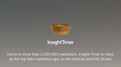 Guided meditations on the Insight Timer meditation app